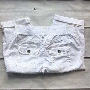 Sonoma Capri mid rise shorts size 2p